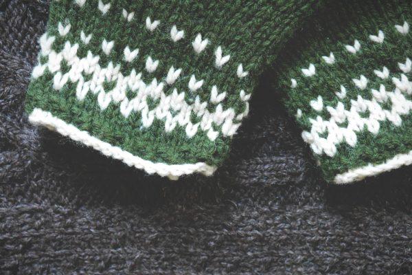 moufles couleur sapin 2